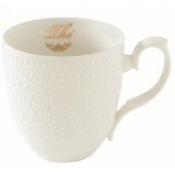 Porcelánbögre 320ml, dobozban, Maison Thé