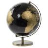 Földgömb fekete-arany