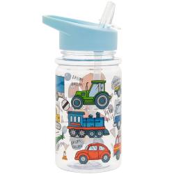 Gyermek ivópalack műanyag 7x7x17cm