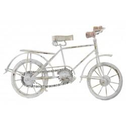 Fém dekoráció bicikli
