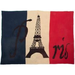 Pléd Párizs mintás 130x170cm
