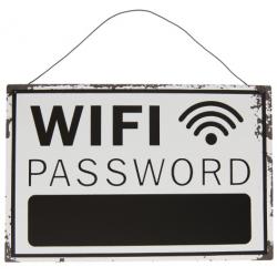 Wifi tábla fém felírós