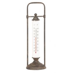 Fém álló kültéri hőmérő