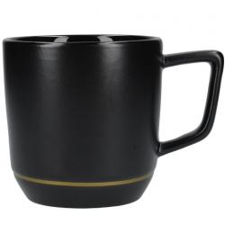 Kerámia latte bögre, 350ml, Fekete, La Cafetiére