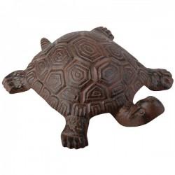 Öntöttvas dekoráció - teknős