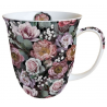 Porcelán bögre 0,4l - Vintage flowers