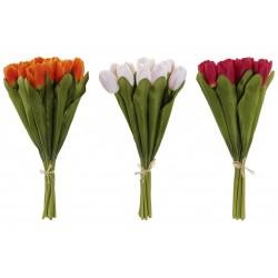 Tulipán csokor dekoráció 12db