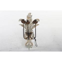 Fali lámpa, Fa fém 33x22x60cm, Régies