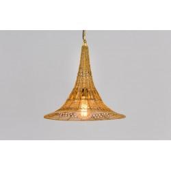 Mennyezeti lámpa, vas arany, Régies