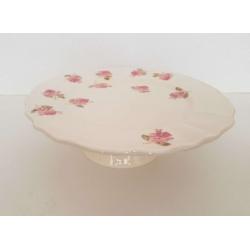 Kerámia tortatál  - Vanilia Kerámia / Violin apró rózsás