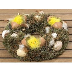 Ajtókoszorú Húsvéti csibés