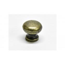 Fiók gomb szett 5db fém arany 2cm