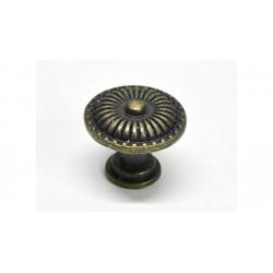 Fiók gomb szett firenze 5db fém 2,4cm