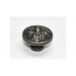 Fiók gomb szett görög 5db fém 2,9cm