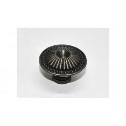Fiók gomb szett róma 5db fém 3,3cm
