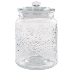 Tárolóüveg 5 literes szőlő mintával