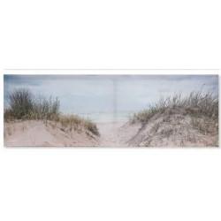 Falikép vászon, 90X30cm - tengeri