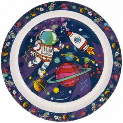 Műanyag tányér 22cm űrhajós