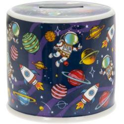 Porcelán persely űrhajós