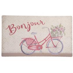 Előszoba belépő szőnyeg biciklis