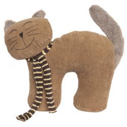 Ajtókitámasztó textil cicás