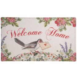 Előszoba belépő szőnyeg welcome home