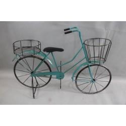 Virágtartó bicikli sokcserepes kék