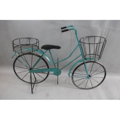 Virágtartó bicikli sokcserepes