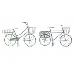 Fém virágtartó bicikli állvány 2 féle
