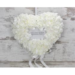 Esküvői dekoráció 45cm , üdvözlő szív