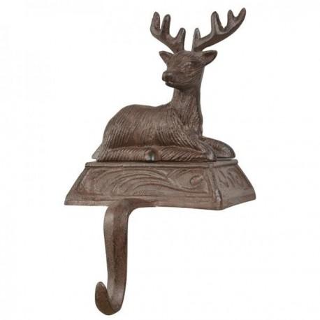 Karácsonyi zoknitartó - szarvasos