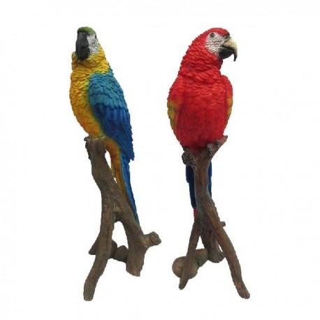 Kerti szobor papagáj