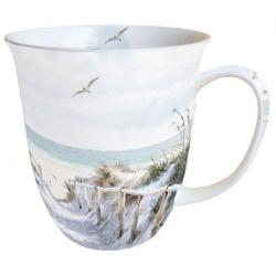 Porcelán bögre 0,4l - tengerparti