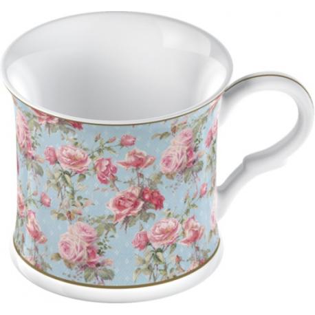 Porcelán bögre rózsás 300ml