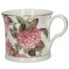 Porcelán bögre virágos 300ml