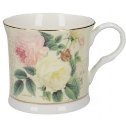 Porcelán bögre rózsás 230ml
