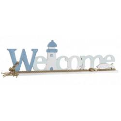 Dekoráció fa Welcome