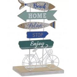 Dekoráció fa biciklis