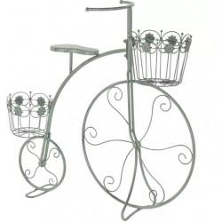 Fém virágtartó állvány bicikli