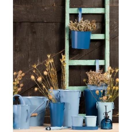 Cink váza kék