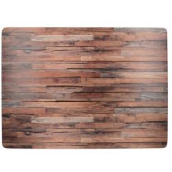 Parafa tányéralátét 4db-os, Wood Cabin