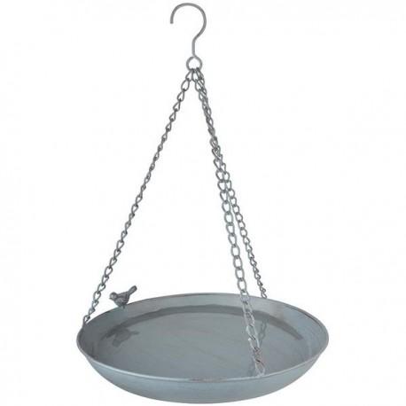 Függő fém madáritató
