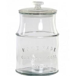 Tárolóüveg szilikonos üveg tetővel 2,3l