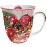Porcelán bögre 0,4l - Merry Little Christmas