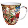 Porcelán bögre 0,4l karácsonyi