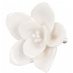 Ajtófogantyú kerámia virág 5cm
