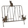 Szakácskönyv tartó  macskás barna