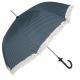 Sétapálca esernyő – sötétkék-fehér, pöttyös
