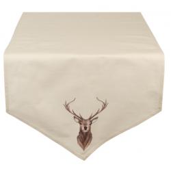 Asztali futó 50x160cm szarvasos