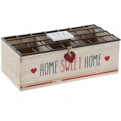Fa teásdoboz 3 fakkos home sweet home